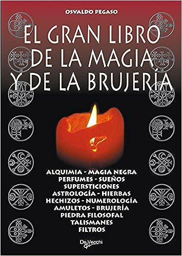 Amazon.com: El gran libro de la magia y de la brujeria (Spanish Edition) (9788431519087): Osvaldo Pegaso: Books