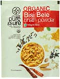 Pure & Sure Organic Powder, Bisibelebath, 100g