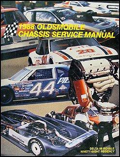 1988 Oldsmobile Delta 88 Royale, Ninety Eight Regency Repair Shop Manual ()
