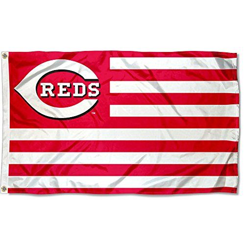 Cincinnati Reds Nation Flag 3x5 Banner