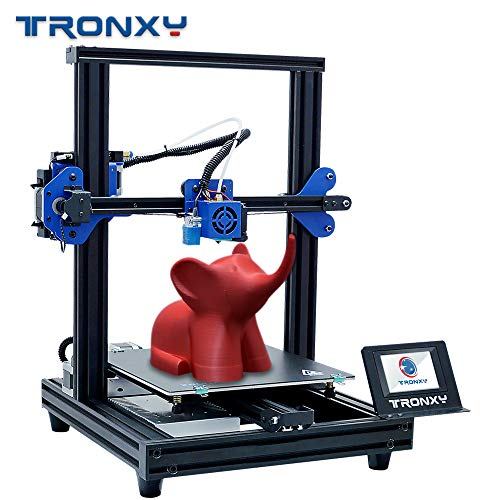 TRONXY New Upgraded 3D Printer XY-2 PRO Fast Assembly Quick Installation  Auto Leveling Continuation Print Power Filament Sensor Full Color Touch