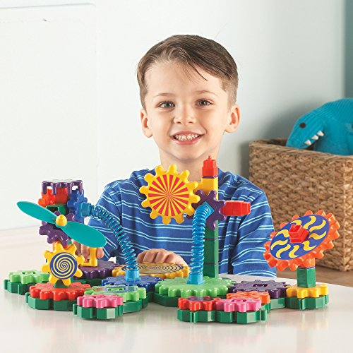Learning Resources Gears! Gears! Gears! Gizmos Building Set, 82Pieces