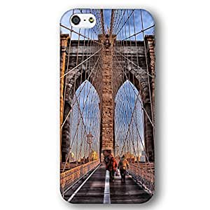 Brooklyn Bridge New York City Case For HTC One M8 Cover Slim Phone Case