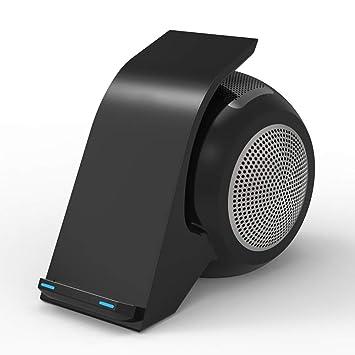 ZUZU Altavoz Bluetooth Carga inalámbrica y Soporte para ...