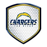 NFL San Diego Chargers Team Shield Automobile Reflector