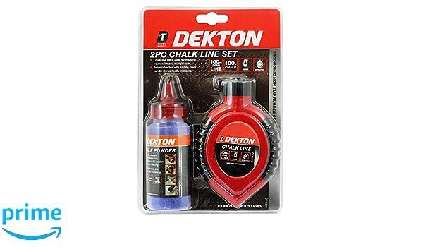 Kit de tiral/íneas 2 piezas Dekton DT45310