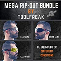 9ba751ee88d ToolFreak Rip Out Work   Sports Safety Glasses Clear