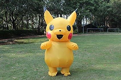 Kooy Pikachu Inflatable Costume Cosplay Halloween & Amazon.com: Kooy Pikachu Inflatable Costume Cosplay Halloween: Toys ...