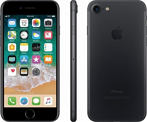 Apple iPhone 7 , Fully Unlocked, 32GB - Black (Certified Refurbished)