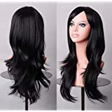 Bright Pink Wig Stunning Long Layers New With Fringe