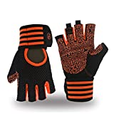 MOREOK Weight Lifting Workout Gloves, Breathable Gym Fitness Gloves Full Anti-Slip Palm Protection
