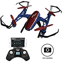 """U28W Mini HD Camera Drone - """"Peregrine"""" 720p Camera Live Video Altitude Hold Outdoor Indoor Drone for Beginners with Wi-Fi FPV Quadcopter"""