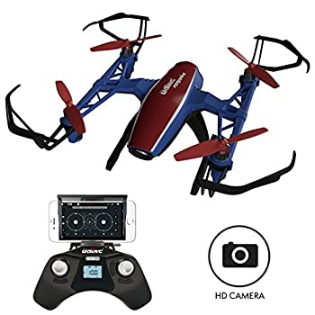 Drones with Camera for Adults or Kids – U28W VR WiFi FPV Drone with Camera Live Video, Remote Control HD Mini Camera Drone Indoor Outdoor Quadcopter 1