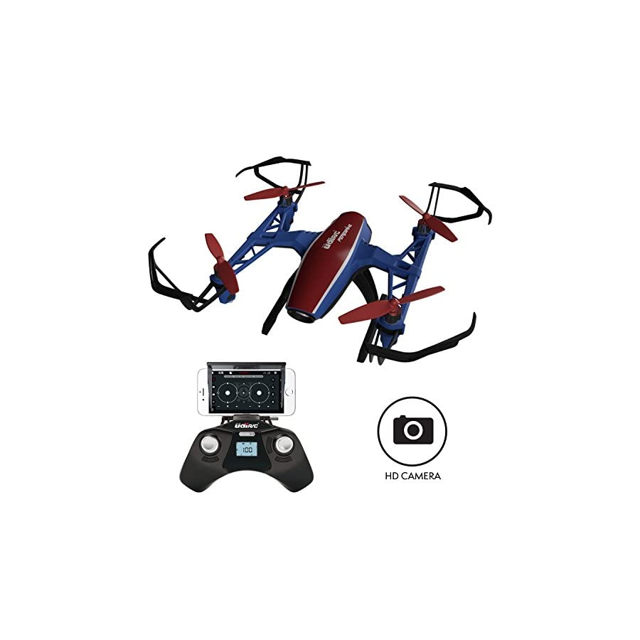 Drones with Camera for Adults or Kids – U28W VR WiFi FPV Drone with Camera Live Video, Remote Control HD Mini Camera Drone Indoor Outdoor Quadcopter 2