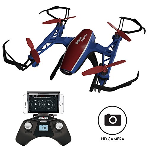 "U28W Mini HD Camera Drone - ""Peregrine"" 720p Camera Live Video Altitude Hold Outdoor Indoor Drone for Beginners with Wi-Fi FPV Quadcopter(Certified Refurbished)"