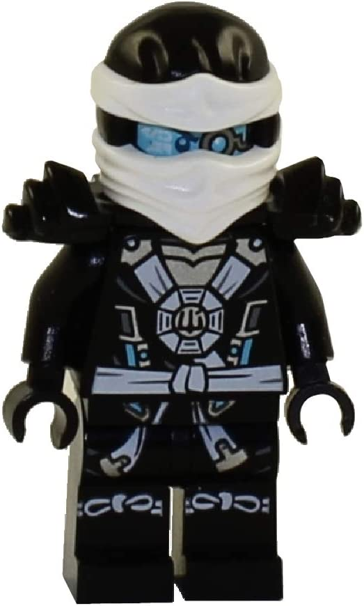 Zane Deepstone Minifig with Armor 70737 LEGO Ninjago Minifigure