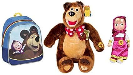 Amazon.com: Funny los niños fijados Masha y el Oso de ...