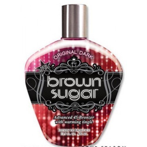 Bed Lotion Brown Tanning (TAN INORPORATED ORIGINAL DARK BROWN SUGAR WITH BRONZER 400ML SUNBED LOTION CREAM TANNING by Tan Incorporated)