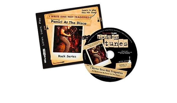 Panic At The Disco Talkingtabs Guitar Lesson For I Write Sins