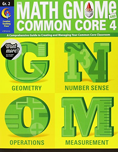 2nd Grd Math Gnome & Common Core Four