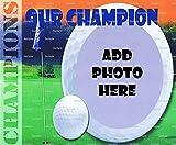 1/2 Sheet - Golf Birthday - Cake Photo Frame - Edible Cake/Cupcake Topper!!!