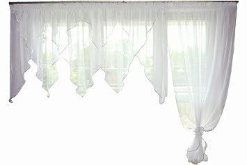 Amazon fk lampem balkongardine fertiggardine aus voile balkon