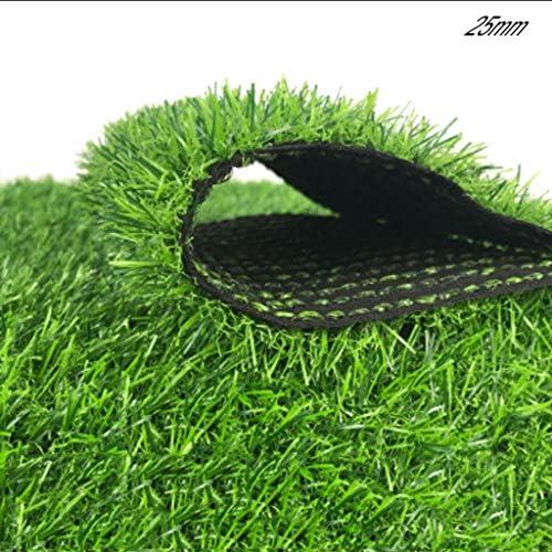 YNFNGXU 屋外の人工芝草、25mmパイル高暗号化シミュレーショングリーングラスカーペット、中庭の結婚式会場レイアウトに適しています (Size : 2x2.5m)