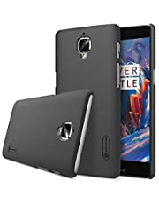 Nillkin- Frosted Shield Hard Bumper Back Cover with Screen Guard for oneplus 3 -Back