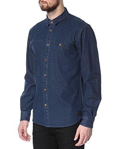 Chemise Longues De Manches Bleu Foncé À Shirt 'sofus' Anerkjendt Sofus ApgfZwqnp