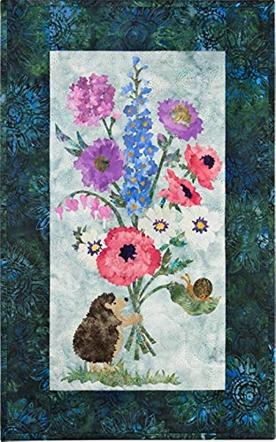 Fabric Kit~Budding Love-Applique Kit- 17 x 28 McKenna Ryan/Hoffman by McKenna Ryan