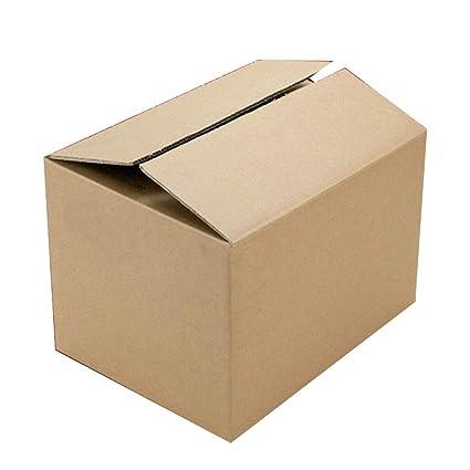 KKCF-HE Cajas De Cartón 10/20 por Paquete Marrón A Prueba De Choques