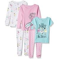Carter's Toddler Girls' 5-Piece Cotton Snug-Fit Pajamas