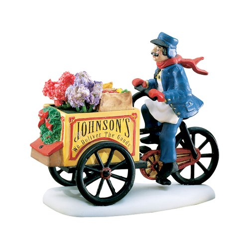 Department 56 Heritage Village Collection Johnson's Grocery... Holiday Deliveries - Johnson Shopping City