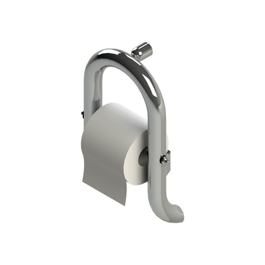 American Standard 8714.100.002 Invisia Toilet Roll Holder, Chrome by American Standard