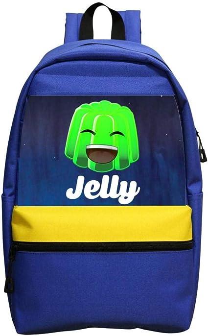 Smile Jelly Gammer Merch Youtuber Player Boys Girls Backpack Kids School Bag