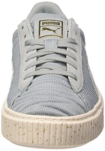 Gris whisper Femme Basses Basket Ow Puma Platform quarry Sneakers White quarry 4wXzYwxPIq