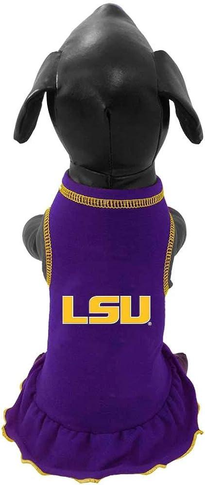NCAA Louisiana State Tigers Cheerleader Dog Dress
