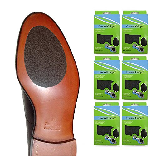6 Pairs Ground Gripper Pads Shoe Soles Non Skid Walking Running Men Woman New !