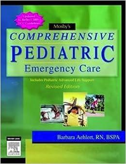??IBOOK?? Mosby's Comprehensive Pediatric Emergency Care: Revised Edition. stock Verein hours cifrene Speedfit Bereich llibres obrero