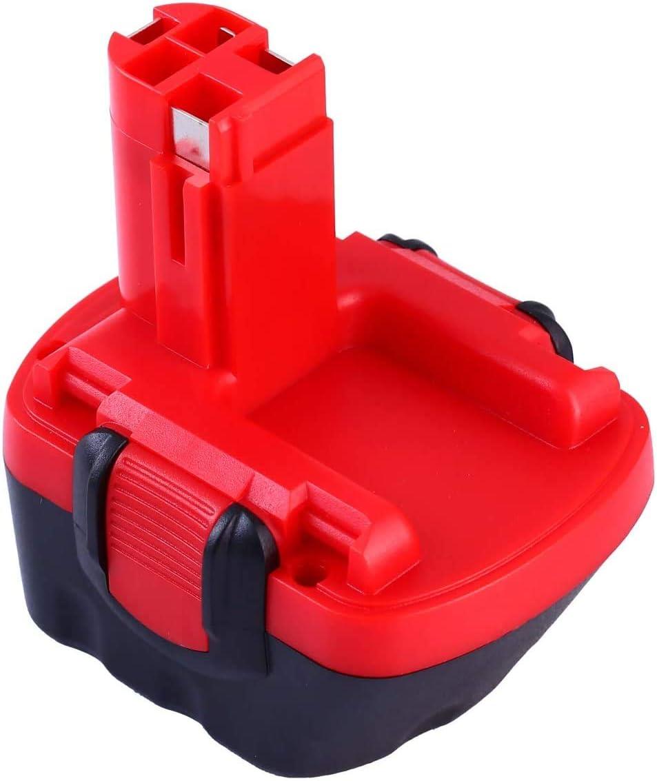 Topbatt 12V 3.0Ah Ni-MH para Bosch Batería de repuesto BAT043 BAT045 BAT046 BAT049 BAT120 BAT139 2607335273 2607335249 2607335709 2609200306 GSR12-2 GSR12-1 PSB12VE-2 PSR1200