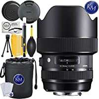 Sigma 14-24mm f/2.8 DG HSM Art Lens for Nikon F Mount + Essential Lens Bundle