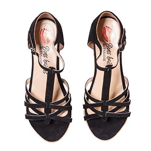 Black Bons Baisers Sandales De Paname Zezette x0q71X