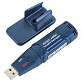 REED Instruments R6020 Temperature and Humidity USB Datalogger, -40 to 158°F (-40 to 70°C), 0-100% RH