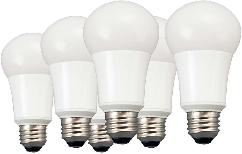 TCP RLVA10027ND6 100 Watt LED Light Bulbs (Equivalent) Energy Efficient 14W | A19 Lamp E26 medium base | Non-Dimmable Soft White, Pack of 6