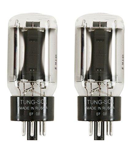 Platinum Matched Pair Tung-Sol 6L6STR Power Vacuum Tube