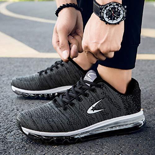Donna B Uomo Ginnastica Sneakers Fitness Running Corsa Da Nero Sportive Scarpe aqtAUw