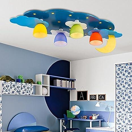 M Europea estilo plafón lámpara creativa habitación infantil ...