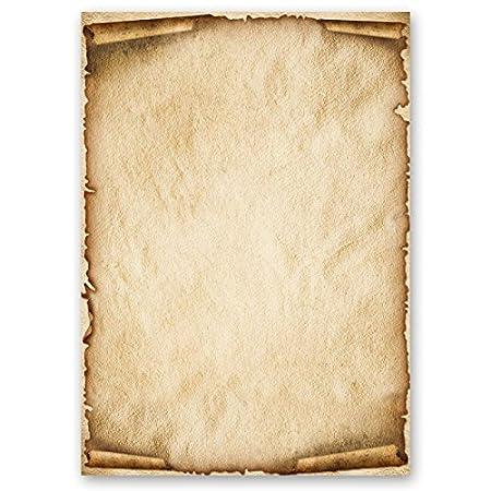 Carta da lettera decorati OLD STYLE 100 fogli formato DIN A5