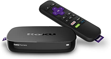 Roku Premiere HD And 4K UHD Streaming Media P