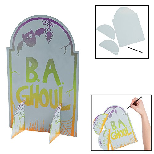 Magic Color Scratch Tombstone Stand-Ups 11
